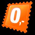 Tankini portocaliu cu dantelă